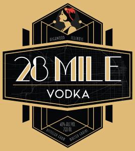 28 Mile Vodka logo
